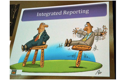 What is an integrated report?